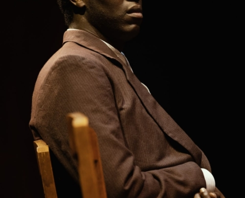 Kyle Scatliffe in To Kill a Mockingbird. Photo by Julieta Cervantes.