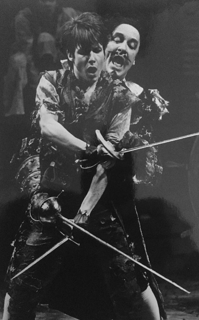 John Cameron Mitchell and Laird Williamson in the DCPA Theatre Company's 'Peter Pan.'