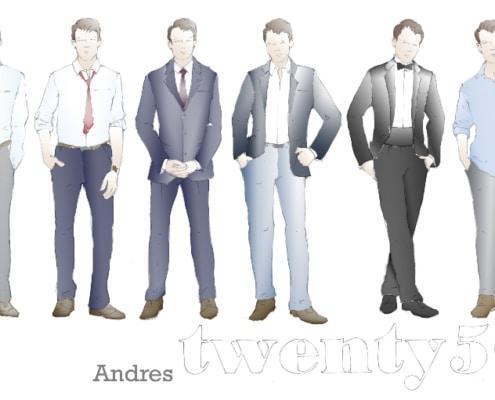 Meghan Anderson Doyle's renderings for 'twenty50.'