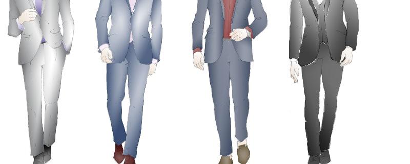 Meghan Anderson Doyle's renderings for the character of Sebastian in 'twenty50.'