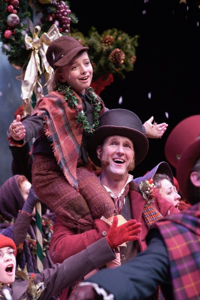 One of Laird Williamson's 14 seasonal stagings of 'A Christmas Carol'