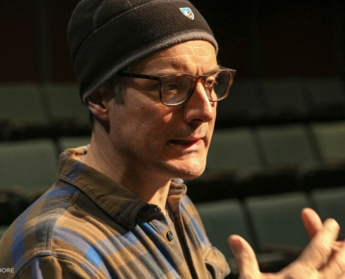 Gareth Saxe in rehearsal for 'Hotter Than Egypt.' Photos by John Moore