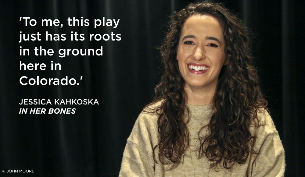 Jessica Kahkoska Colorado New Play Summit 2020. In Her Bones. Photo by John Moore