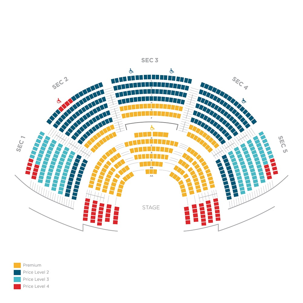 Wolf Theater Seating Chart