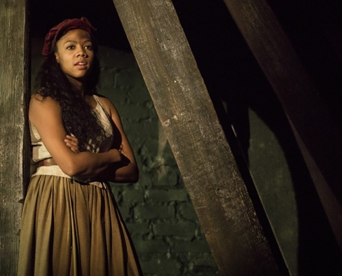 Phoenix Best as 'Éponine' in the new national tour of LES MISÉRABLES. Photo by Matthew Murphy