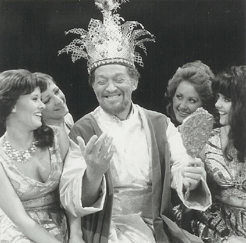Bill McHale in 'Kismet.'