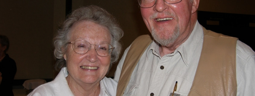 Arlene and Bill McHale were married for 65 years. Photo by John Moore.