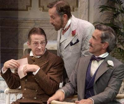 Jamie Horton, Randy Moore and John Hutton in the CPA Theatre Company's 'A Flea in Her Ear' in 2006.