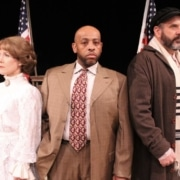 Tracy Warren, Charles Ray King Jr. and Wayne Kennedy in 'Ragtime.' Photo by Glenn Ross
