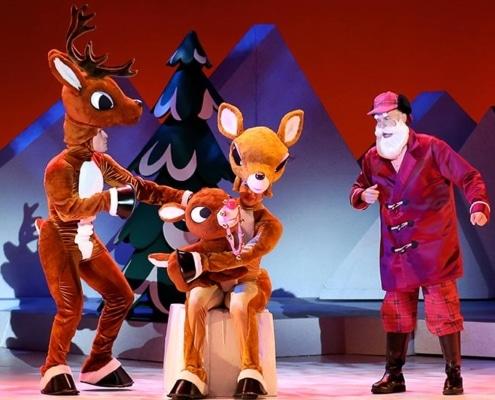 Rudolph Family and Santa
