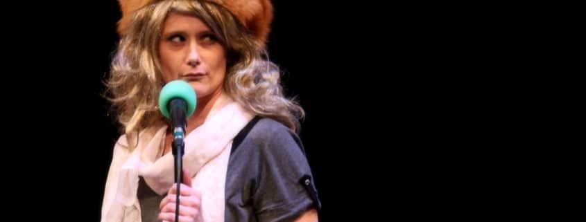 Jessica Austgen performing Improv