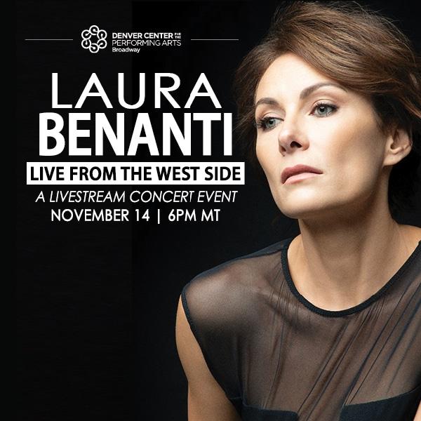 Laura Benanti – Saturday, November 14 at 6pm MT