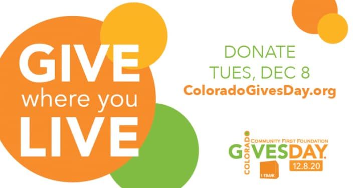 Colorado Gives Day is Tuesday, December 8, 2020