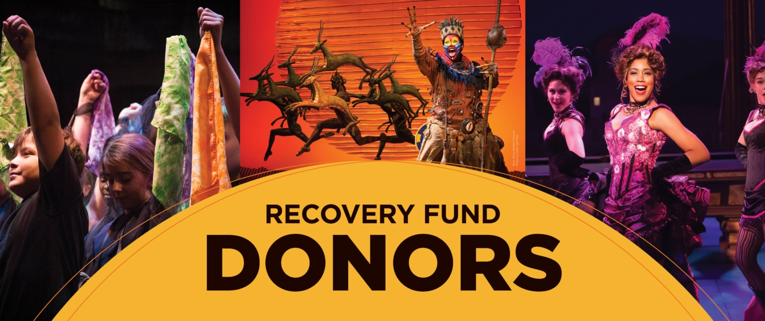 Recovery Fund Donor List