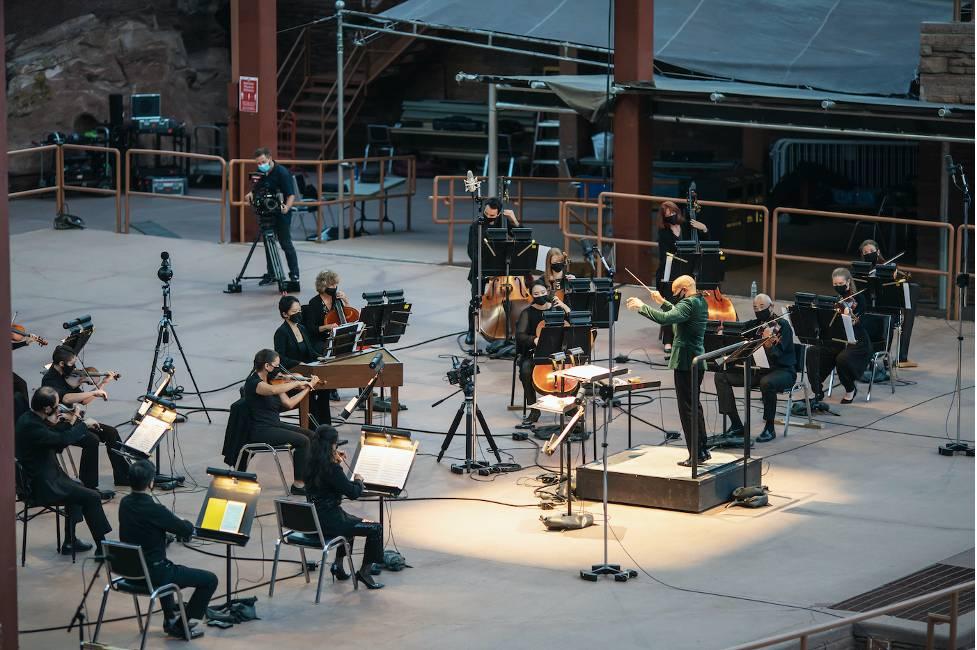 Colorado Symphony at Red Rocks