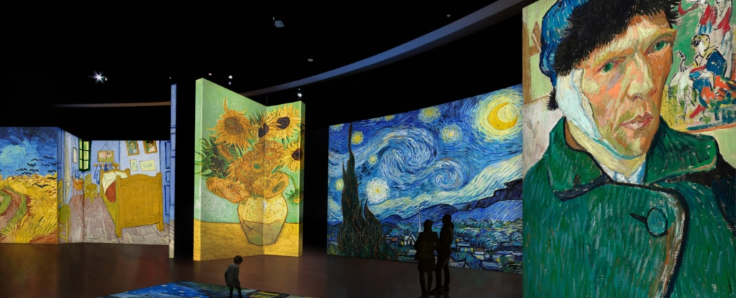Van Gogh Alive runs July 9 to September 26, 2021.