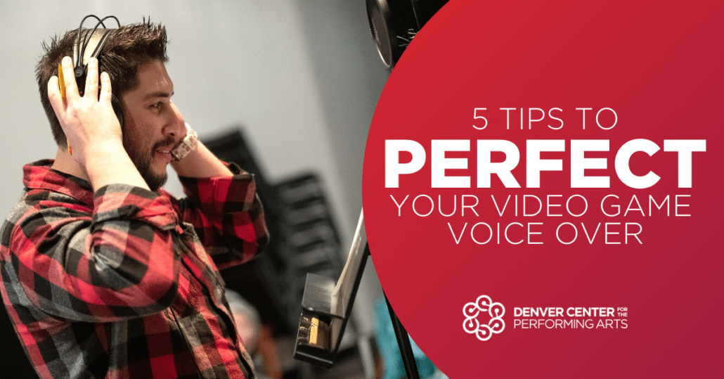 Five Tips to perfect your video game voice over